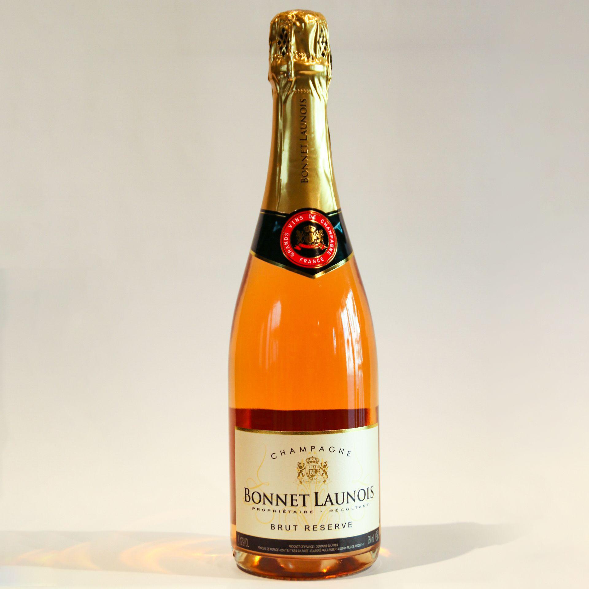 Gewinnspiel - 1 Fl. Champagner rosé von Bonnet Launois